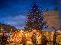 Weihnachtsmarkt Blauer Lichterglanz