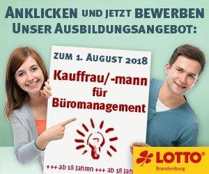 Lotto Brandenburg_Ausbildung