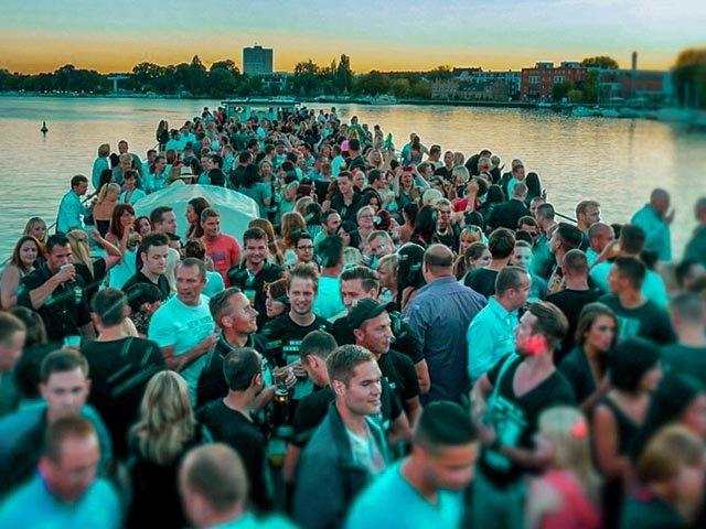 Partyfieber auf der Havel