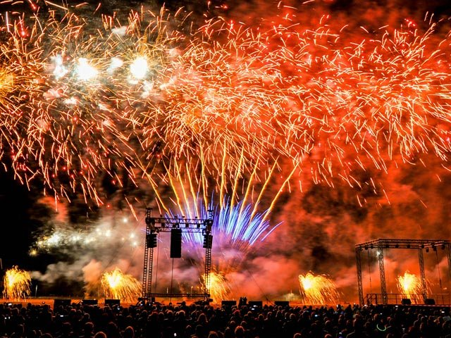 Potsdamer Feuerwerkersinfonie