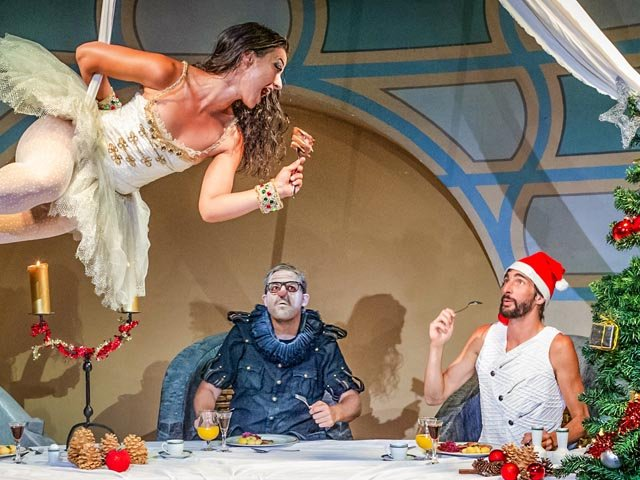 Das fast perfekte Weihnachten_Dinnershow 2018_Foto Ronny Budweth