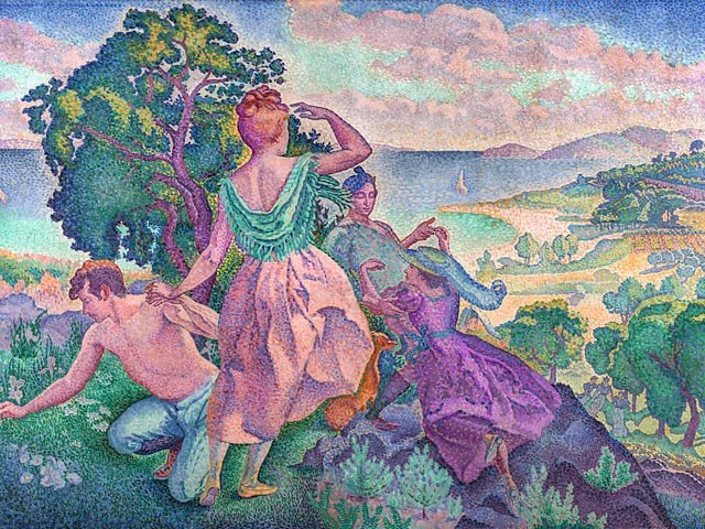 Henri-Edmond Cross, Ausflug, 1895