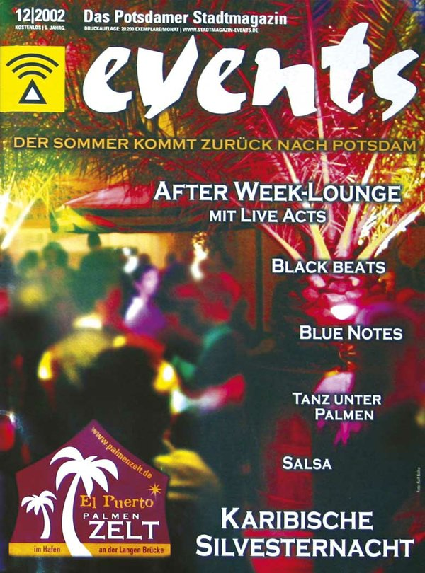 EVENTS Cover 12.2002