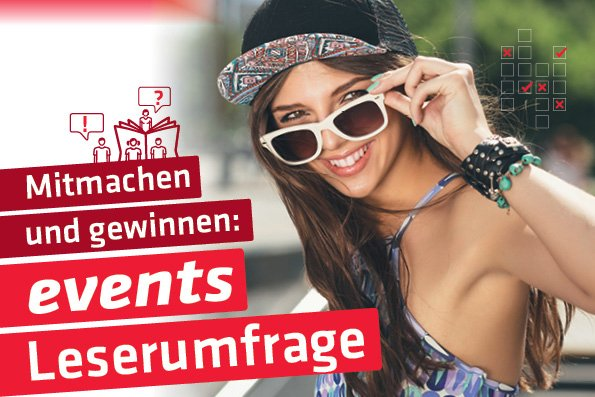 EVENTS Leserumfrage