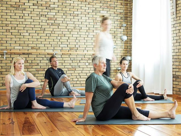 Yoga Pilates Potsdam Innenraum