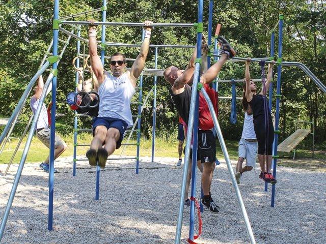 Vielfältiges Open-Air-Training für jedermann