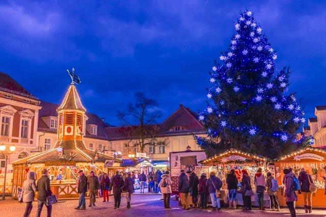 Weihnachtsmarkt in der Potsdammer Innenstadt