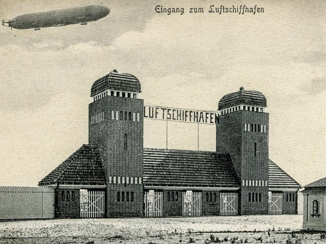 Der Luftschiffhafen in Potsdam