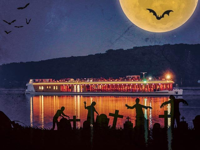 Halloween goes Boat